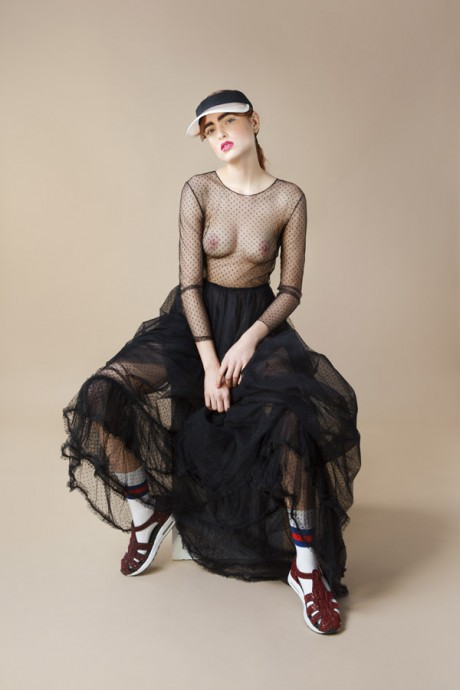 fashion editorial featured on photovogue italia by Anna Breda photography