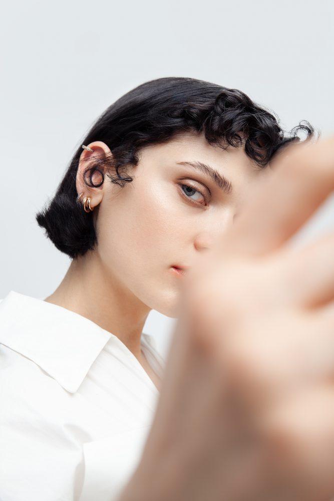 beauty editorial Atemporary icons by anna breda
